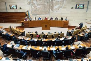 Fernández Vara pide unidad a los grupos parlamentarios de la Asamblea de Extremadura para la defensa de la Política Agraria Común