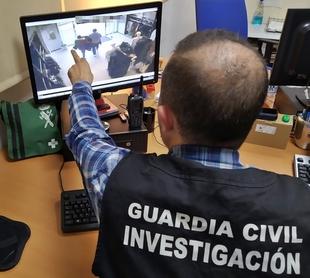 La Guardia Civil desarticula un grupo criminal dedicado al hurto en establecimientos comerciales de Extremadura