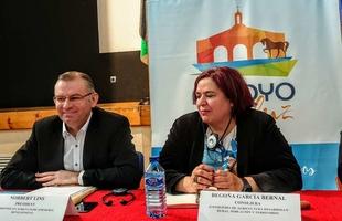 Begoña García destaca la importancia de la visita de europarlamentarios para apreciar las necesidades de la PAC en Extremadura