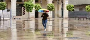 El 112 Extremadura activa la alerta amarilla por lluvias en varias zonas de la región