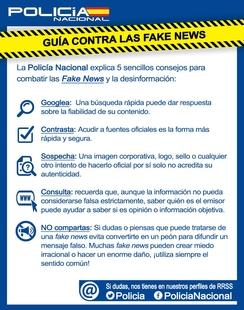 Nace la primera guía para evitar ser manipulados por las fake news