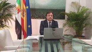 Fernández Vara pide cooperación y coordinación para luchar contra el Covid-19