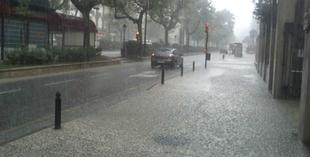 El Centro 112 Extremadura notifica dos fenómenos meteorológicos adversos por lluvias