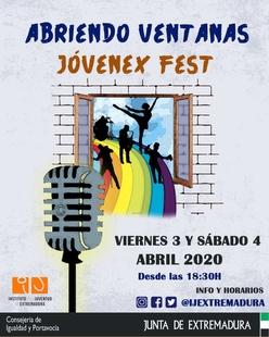 El IJEX pone en marcha el festival Abriendo Ventanas-Jóvenex Fest para ofrecer alternativas culturales a la juventud durante la crisis