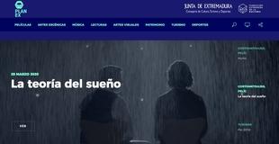 Cultura crea la web 'PlanExenCasa' para facilitar el acceso a la programación cultural extremeña
