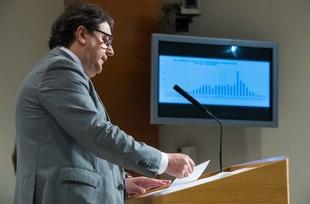 Vergeles destaca que Extremadura es una de las regiones que más pruebas realiza para la detección del coronavirus