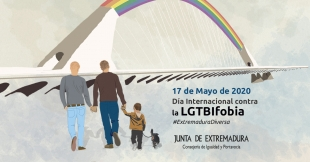 La Junta de Extremadura reitera su compromiso para acabar con la discriminación por razones de orientación sexual
