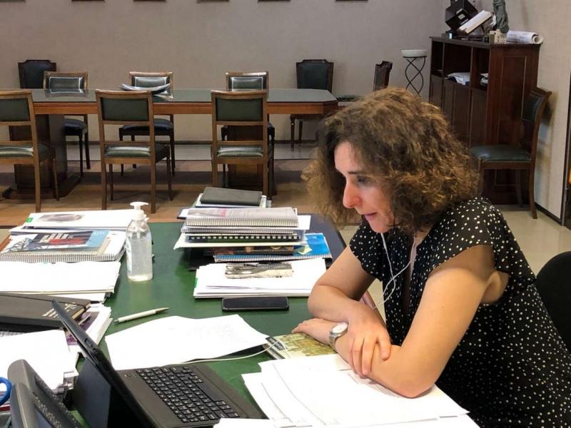 Olga García afirma que la crisis sanitaria del COVID-19 ha demostrado la importancia del abastecimiento y saneamiento del agua como servicio esencial