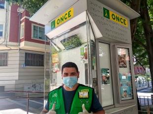 La ONCE arranca el 15 de junio sus sorteos del cupón, con sus vendedores y vendedoras ''a pie de calle''