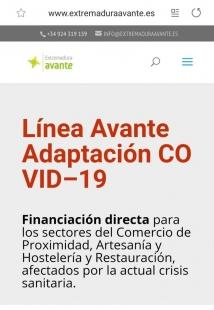 Extremadura Avante pone en marcha una línea de apoyo a los sectores del comercio, artesanía, hostelería y restauración