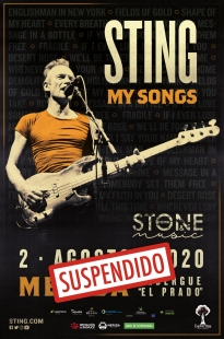 Se suspende el concierto de Sting, previsto para el 2 de agosto, en el Stone & Music Festival
