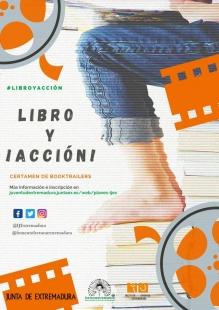 El certamen 'Libro y ¡acción!' promocionará la lectura entre la población juvenil a través de la elaboración de 'booktráiler'