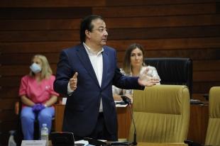Fernández Vara defiende la gestión de la educación en Extremadura y asegura que no ha habido recortes