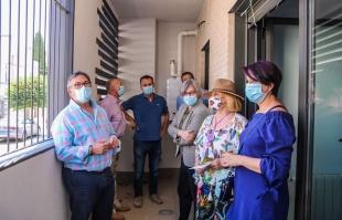 La Junta de Extremadura rehabilita 28 viviendas en Almendralejo y favorece su integración en espacios públicos a través de la regeneración urbana