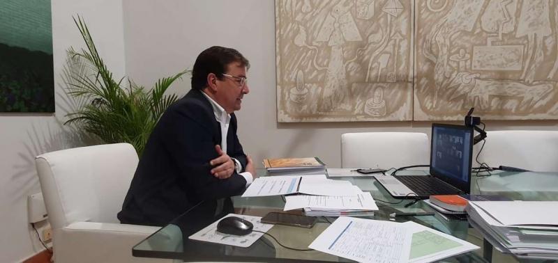 Fernández Vara asegura que el hidrógeno es una ''magnífica oportunidad'' para introducir la innovación hacia el desarrollo de proyectos sostenibles