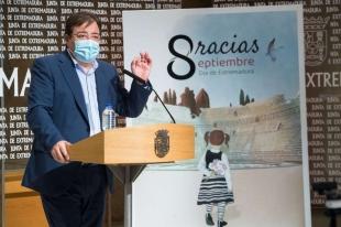 Medalla de Extremadura para colectivos e instituciones que han destacado por su trabajo durante la crisis sanitaria