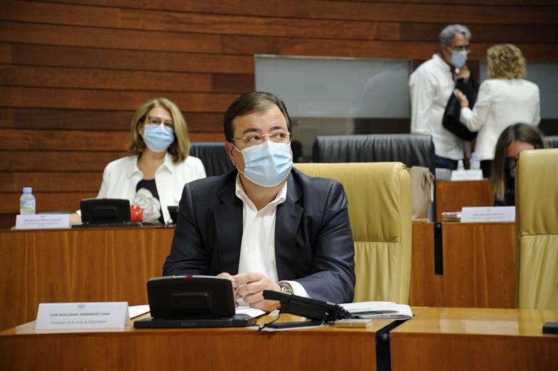 Fernández Vara afirma que Extremadura es la Comunidad que tiene mayor número de efectivos globales sanitarios para un millón de habitantes