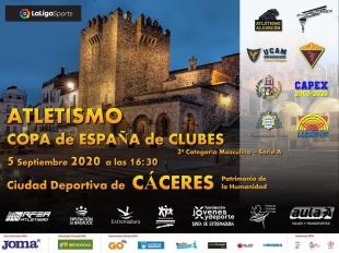 Extremadura acoge este fin de semana competiciones nacionales de atletismo y salvamento y socorrismo