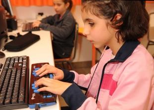 Los 127 estudiantes ciegos de Extremadura preparan su vuelta al colegio en las mismas condiciones que el resto de compañeros