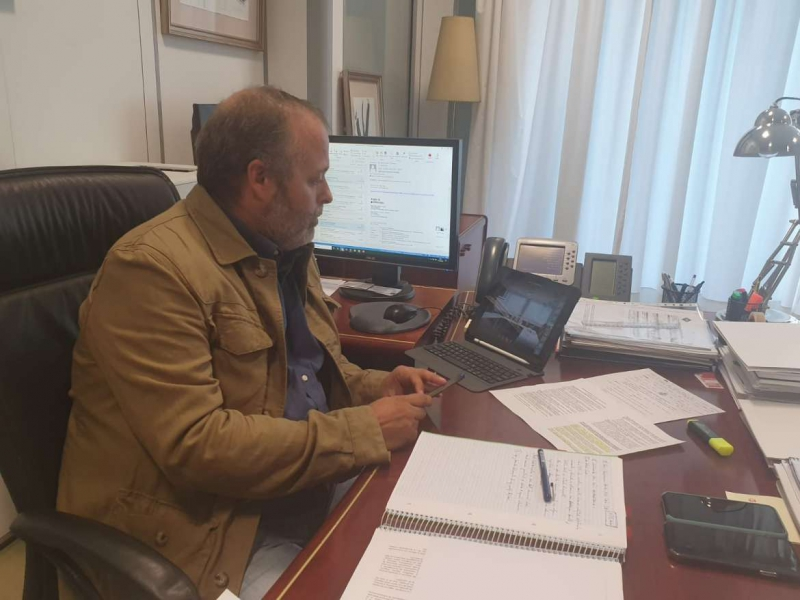 Rafael España participa en la Conferencia General de Política Universitaria que aborda el inicio curso 2020/2021