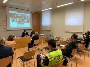 Fuerzas y Cuerpos de Seguridad intensificarán controles en Extremadura y vigilarán el cumplimiento de las normas para frenar la expansión del virus
