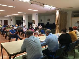 Begoña García presenta el plan de actuación forestal de la Junta a responsables municipales de La Vera