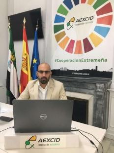 El director de la AEXCID participa en el Encuentro Virtual 'Rumbo al Foro' del III Foro Mundial sobre Ciudades y Territorio de Paz