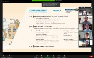 La directora de Urbanismo participa en el webinar de ONU-Hábitat con motivo del Día Mundial Metropolitano