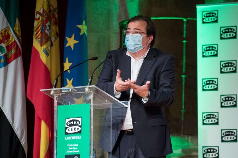 Fernández Vara aboga por la diferenciación y la especialización del turismo en Extremadura