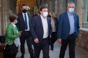 Fernández Vara afirma que la cadena de valor surgida por la pandemia sitúa a Extremadura en una excelente posición de salida hacia el futuro