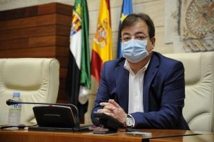 El presidente de la Junta reconoce el papel del Consejo de la Juventud de Extremadura como escuela de liderazgo