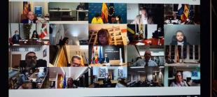 Extremadura participa en la reunión de la CARUE en la que se ha abordado como único punto la situación actual del Brexit