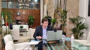 Fernández Vara pone en valor la calidad de los productos de Extremadura en la entrega de los Premios Espiga