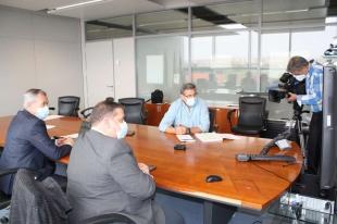 La Junta firma tres convenios con la EOI para impartir formación con un presupuesto de más de 2,7 millones de euros