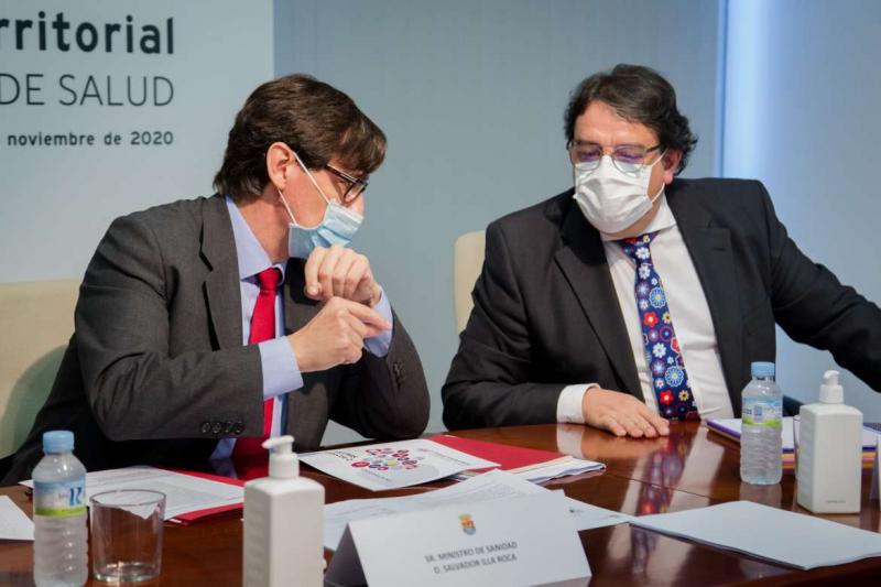 El Consejo Interterritorial de Salud, celebrado desde Extremadura, acuerda la creación de grupos de trabajo para coordinar medidas previas a Navidad