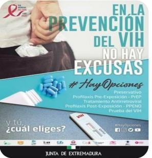 El Instituto de la Juventud programa actividades presenciales y online dentro de la campaña 'En la prevención del VIH no hay excusas. #HayOpciones'