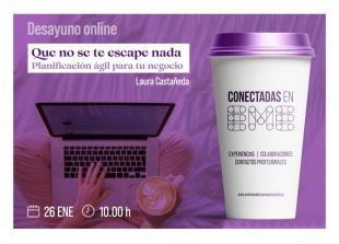 La red profesional de mujeres Conectadas en EME abre la programación de 2021 con dos desayunos online en enero