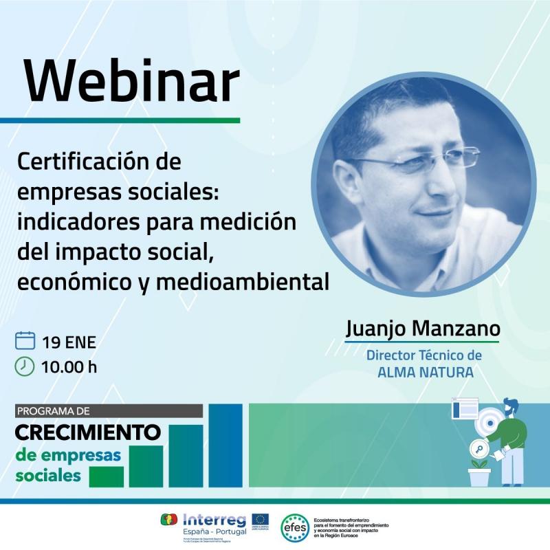 La Dirección General de Empresa celebra este martes un webinar sobre la certificación de empresas sociales