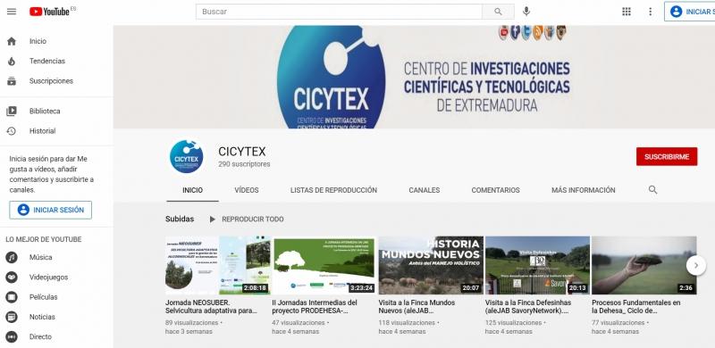 CICYTEX publica las últimas jornadas organizadas por el centro sobre selvicultura adaptativa, manejo holístico y proyecto PRODEHESA