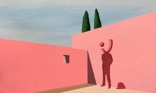 Cultura publica 'Resonancia, regla y simulación', donde se aborda la vigencia de la pintura
