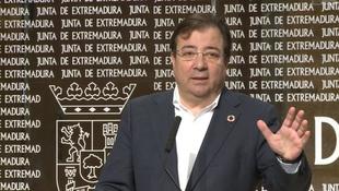 Fernández Vara anuncia que el debate del Estado de la Región se celebrará en abril