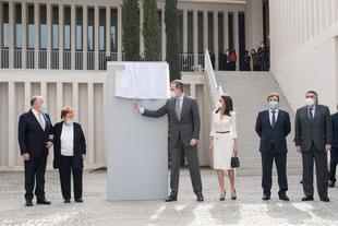 Los Reyes de España inauguran el Museo de Arte Contemporáneo Helga de Alvear