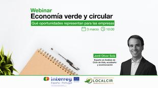 La Dirección General de Empresa celebra el 3 de marzo una jornada sobre las oportunidades empresariales de la economía verde y circular