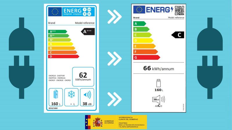 La Junta recuerda la entrada en vigor del nuevo etiquetado de eficiencia energética para electrodomésticos y pantallas electrónicas