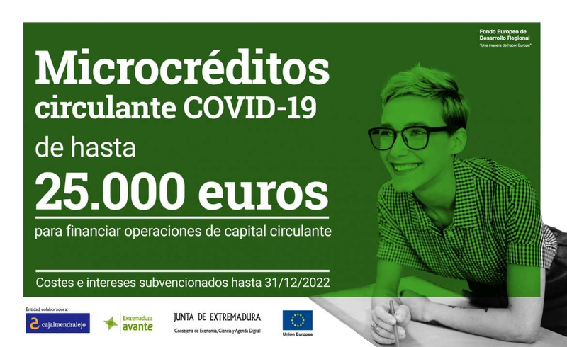 Empresas y autónomos pueden solicitar hasta el 30 de junio microcréditos de hasta 25.000 euros para inyectar liquidez a sus negocios