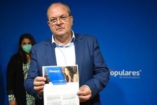 Monago presenta 8 medidas para una Estrategia de Reconstrucción y Transformación de Extremadura