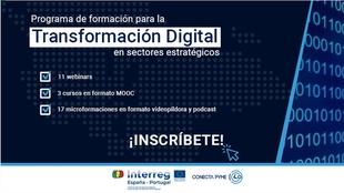 Empresa pone en marcha un programa de formación para la transformación digital en sectores estratégicos