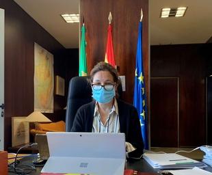 Blanco-Morales destaca que el sector agroalimentario ha sido esencial durante la pandemia y su contribución será clave en la posterior transformación