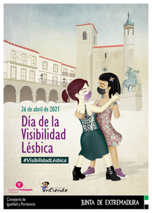La Junta de Extremadura reivindica la visibilidad de las mujeres lesbianas en un día para la lucha por sus derechos