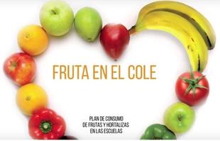 Comienza el Programa Escolar de Consumo de Frutas y Hortalizas, que llega a 396 colegios de Extremadura